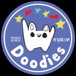 Doodies purple logo